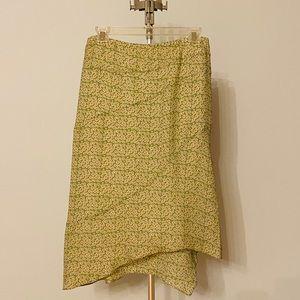 MAX STUDIO 100% Silk Skirt